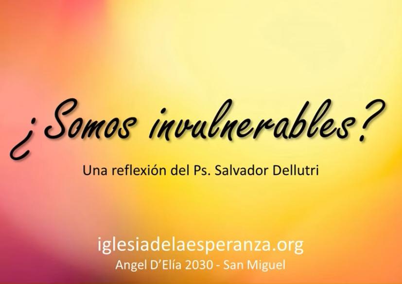 Una reflexión necesaria del Pr. Salvador Dellutri